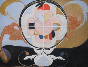 https://en.wikipedia.org/wiki/Hilma_af_Klint#/media/File:Hilma_af_Klint_-_Group_VI,_Evolution_No._13_(13949).jpg